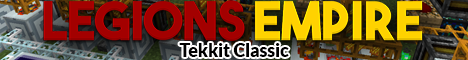 Legions Empire MC - Tekkit Classic Minecraft Server IP